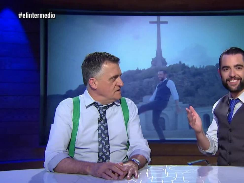 El Gran Wyoming y Dani Mateo, en una imagen en su programa.