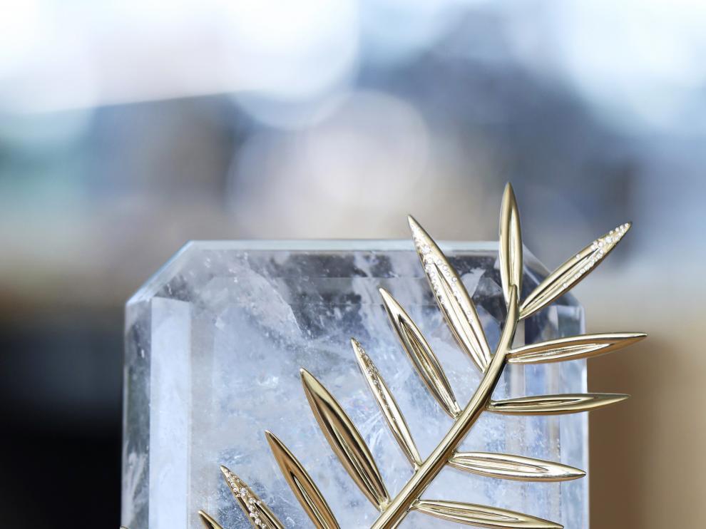 La palma de oro de la edición de este año del festival de Cannes.