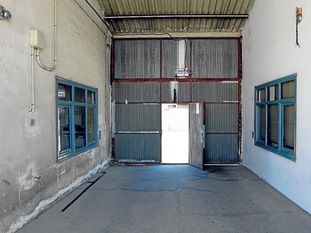 En verano robaron una furgoneta y dinero del antiguo almacén municipal de Soria.