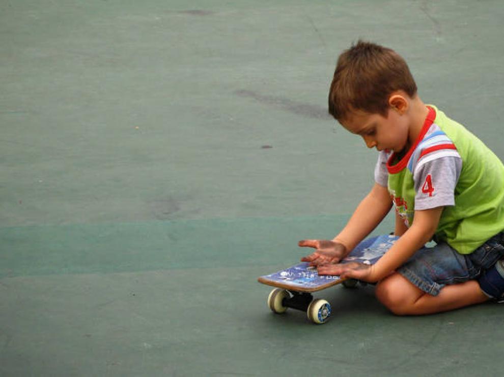 Un niño en una imagen de archivo.