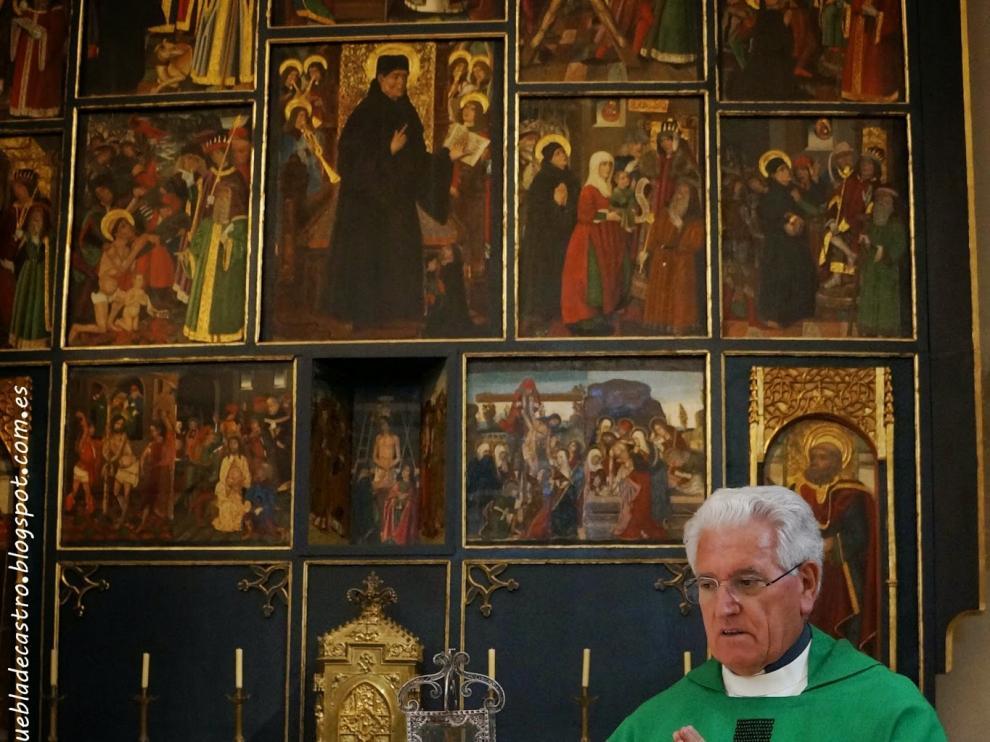 Desde Córdoba hasta La Puebla de Castro para venerar una reliquia