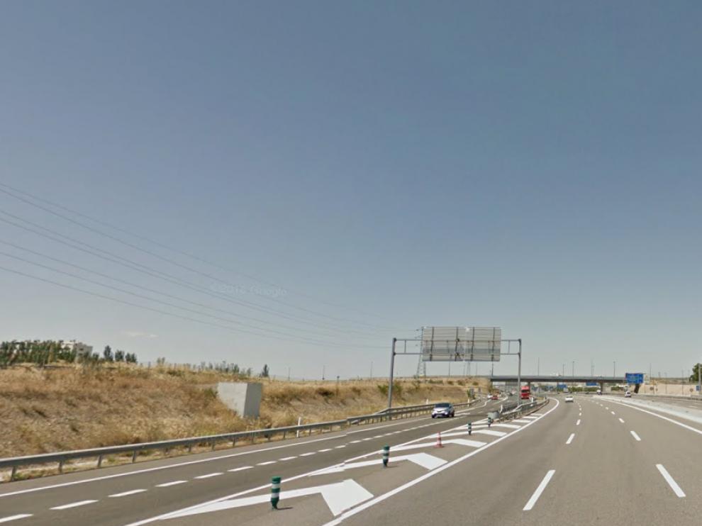 Kilómetro 328 de la autovía A-2 (Z-40).