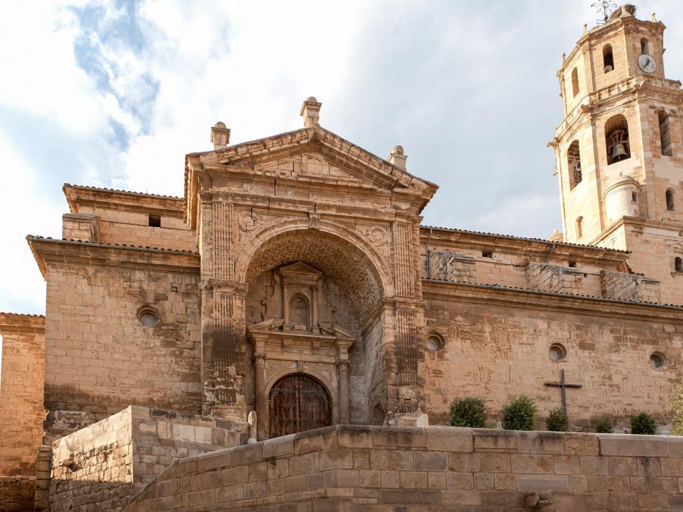 La iglesia parroquial de Fonz.