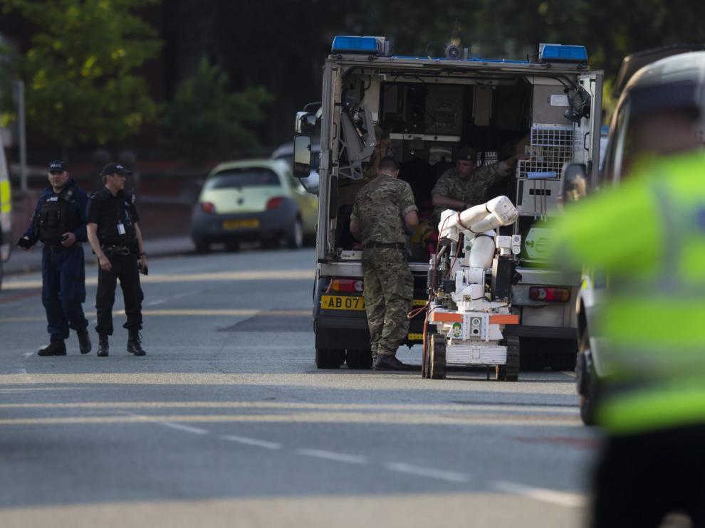 Los soldados de las Fuerzas Armadas han sustituido a la policía en puestos de vigilancia estratégicos.