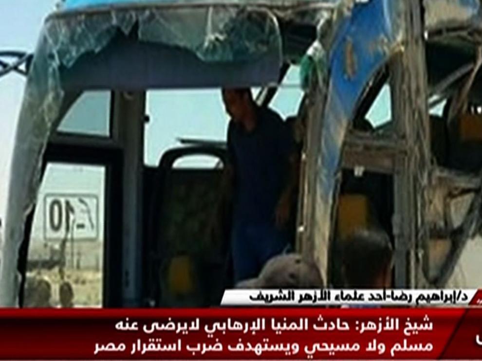 Tiroteo contra un autobús de cristianos coptos en Egipto.