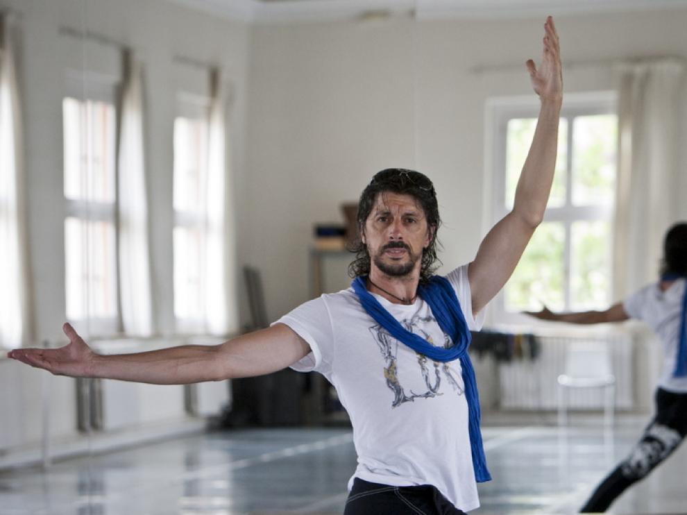 El bailarín y coreógrafo zaragozano Miguel Ángel Berna.