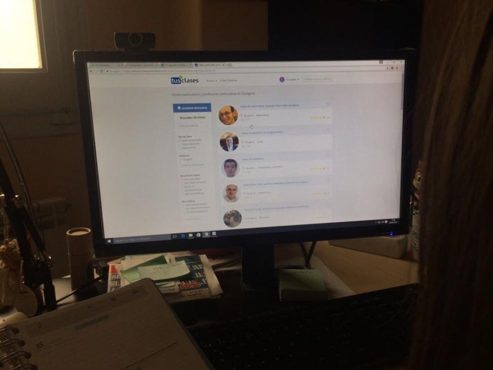 Para recibir clases basta con un ordenador y una conexión a internet
