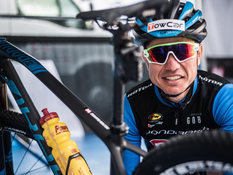 El ciclista Milton Ramos fue uno de los primeros en beneficiarse de Younext Bike