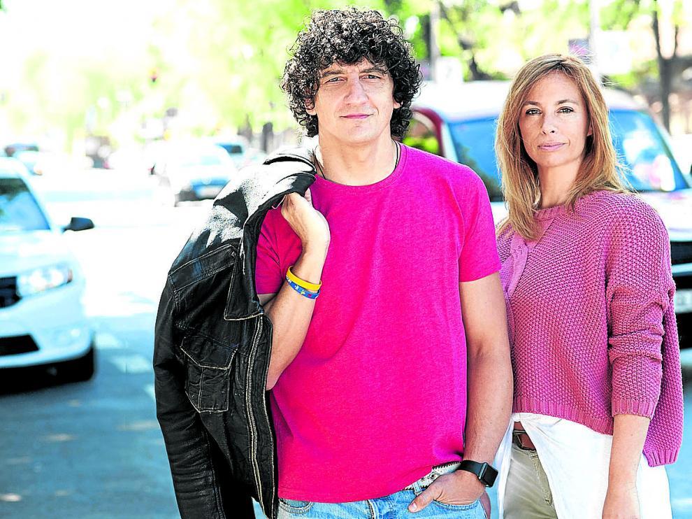 Jero García y Bárbara Tovar, la psicóloga de 'Hermano mayor'.