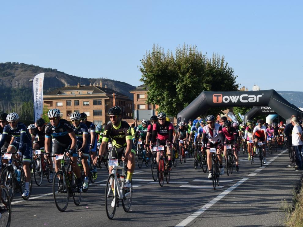 La Marcha de los Puertos de la Ribagorza a golpe de pedal