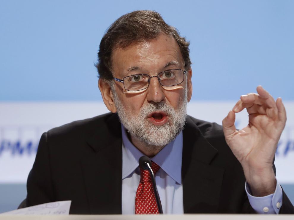 Rajoy, en la reunión del Círculo de Economía en Sitges