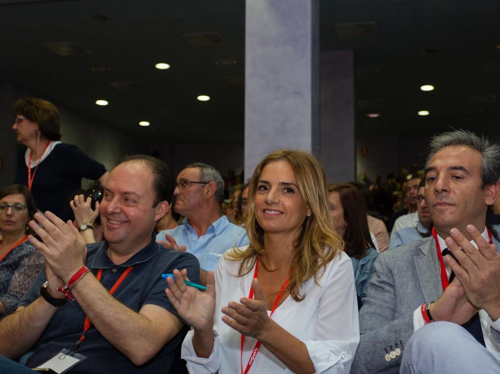 La diputada Susana Sumelzo, representante de la candidatura de Pedro Sánchez en Aragón.