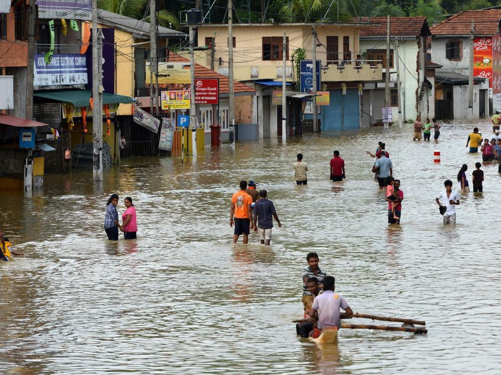 Las lluvias causan 146 muertos y 112 desaparecidos en Sri Lanka
