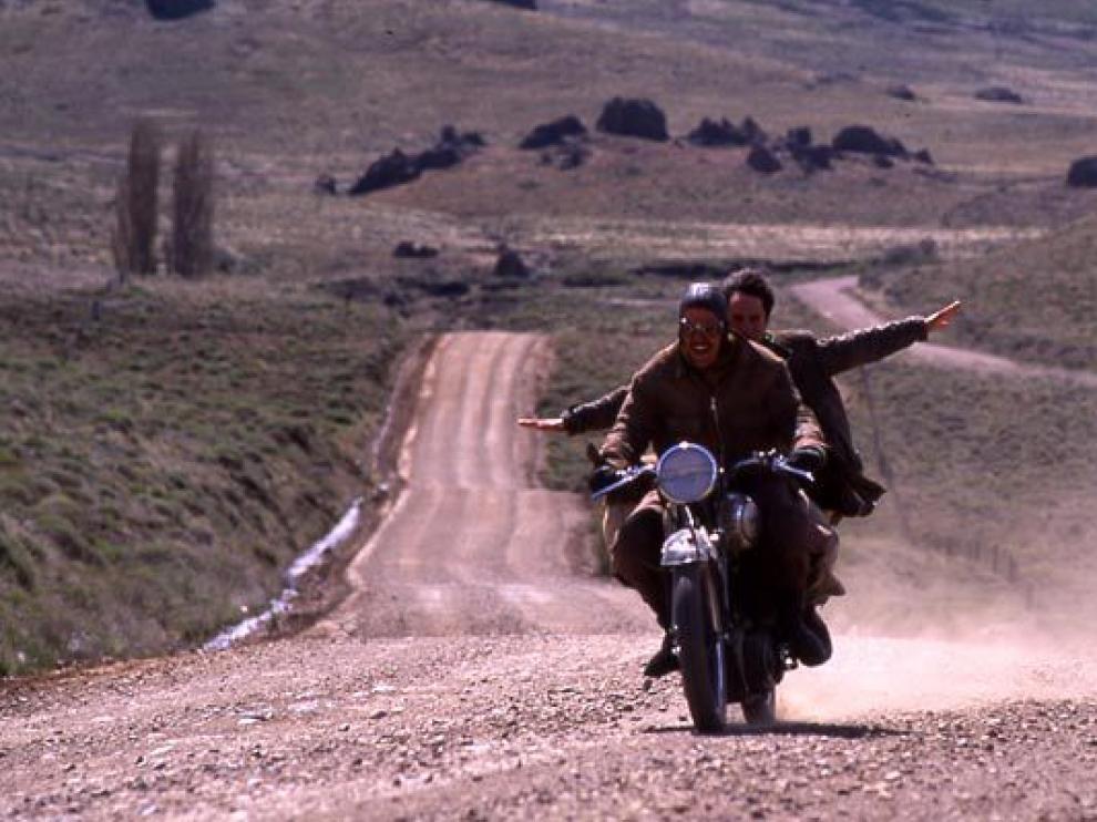 Imagen de la película 'Diarios de motocicleta'.