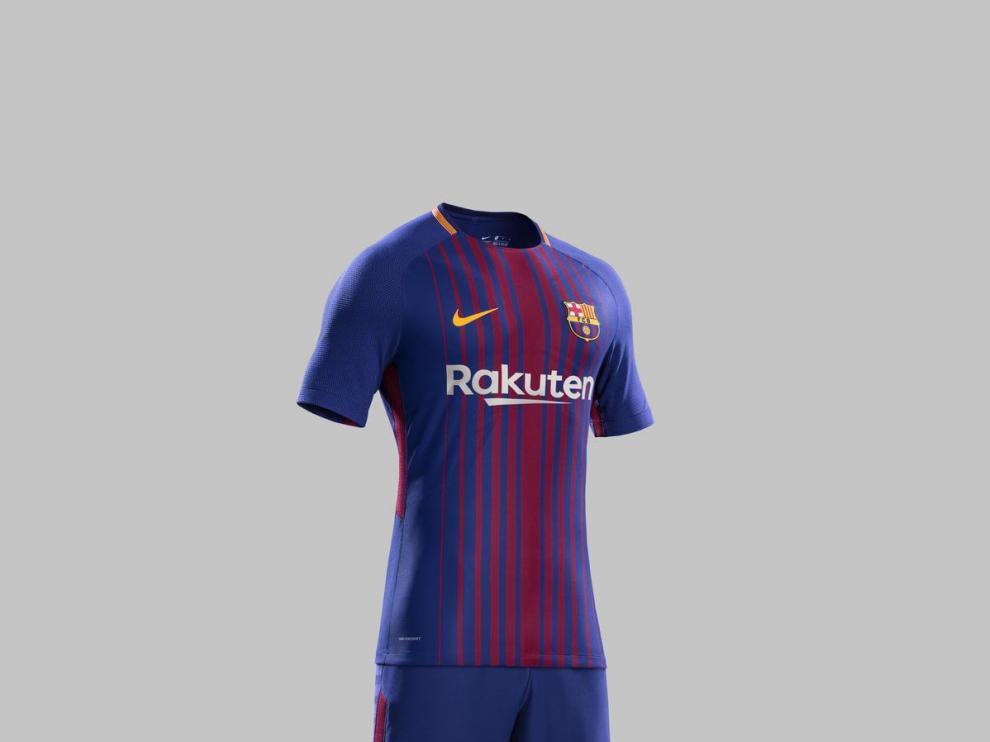 La empresa especializada en deporte Nike tiene los derechos de la marca Fútbol Club Barcelona.