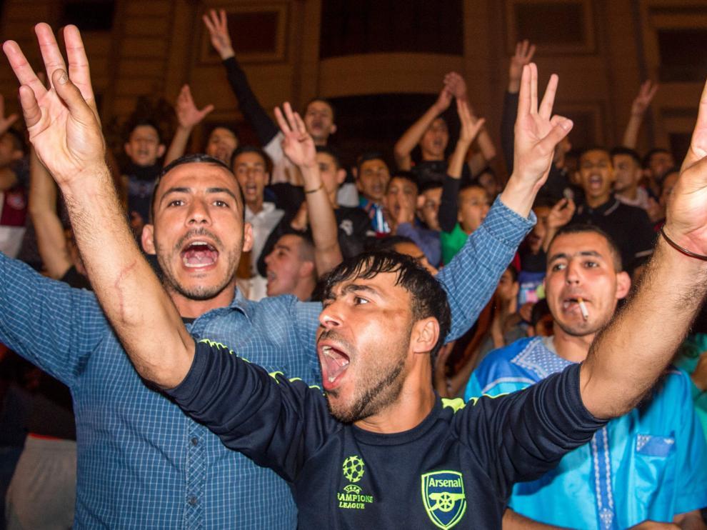 Protestas en Marruecos en demanda de mejoras sociales de la región del Rif.