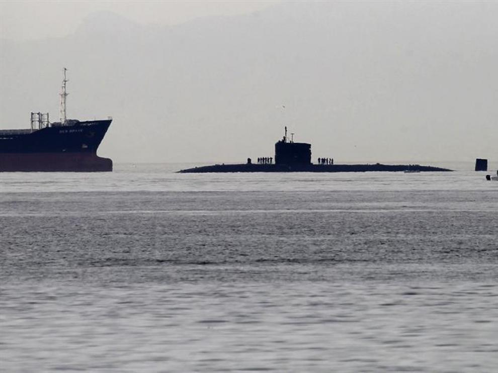 El submarino nuclear 'HMS Torbay'.