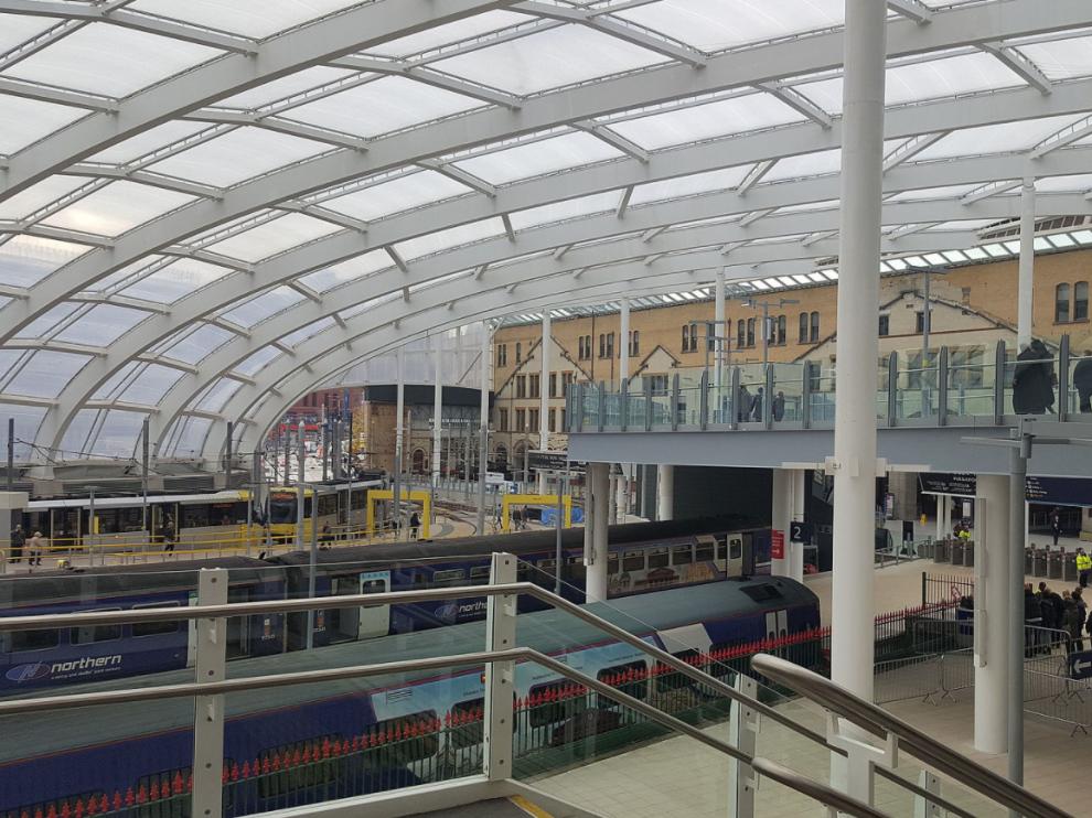 La estación Victoria de Mánchester.