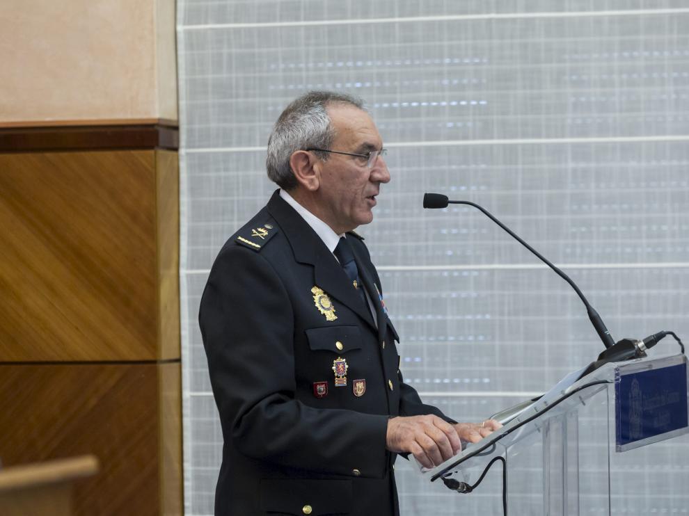 José Ángel González Jiménez es el nuevo jefe superior de la Policía Nacional en Aragón.