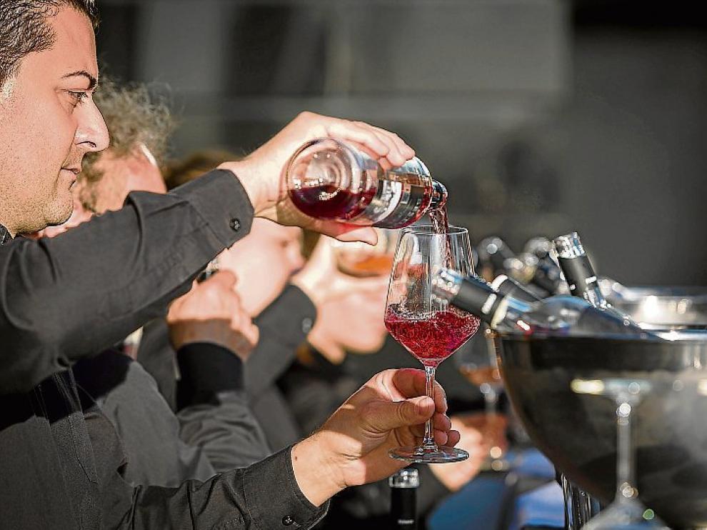 Degustación de vinos de la D. O. Somontano.