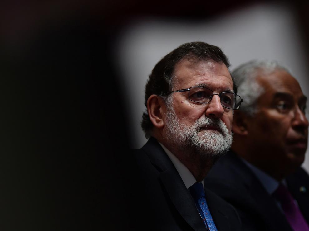 Rajoy está estos días de viaje en Portugal