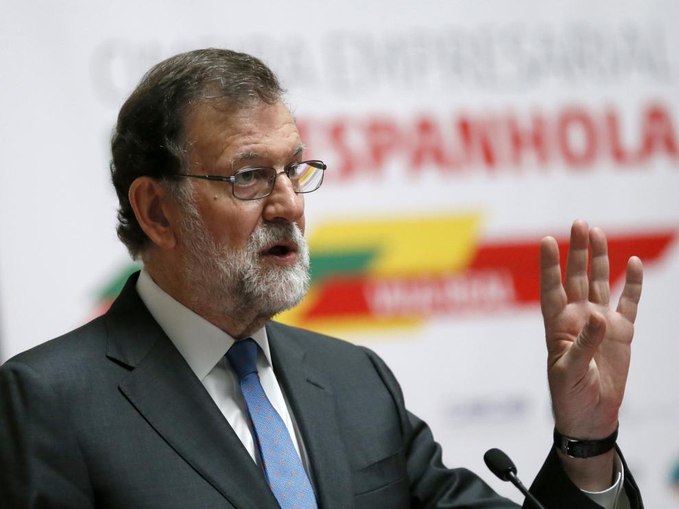 Rajoy en Portugal.