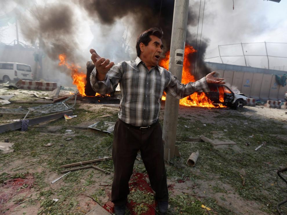 Atentado con coche bomba en Kabul