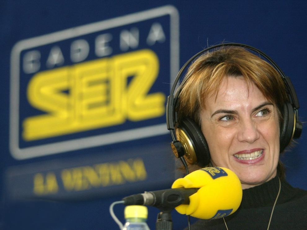 La periodista Gemma Nierga.