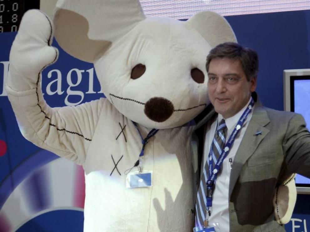 El presidente de Imaginarium, Félix Tena.