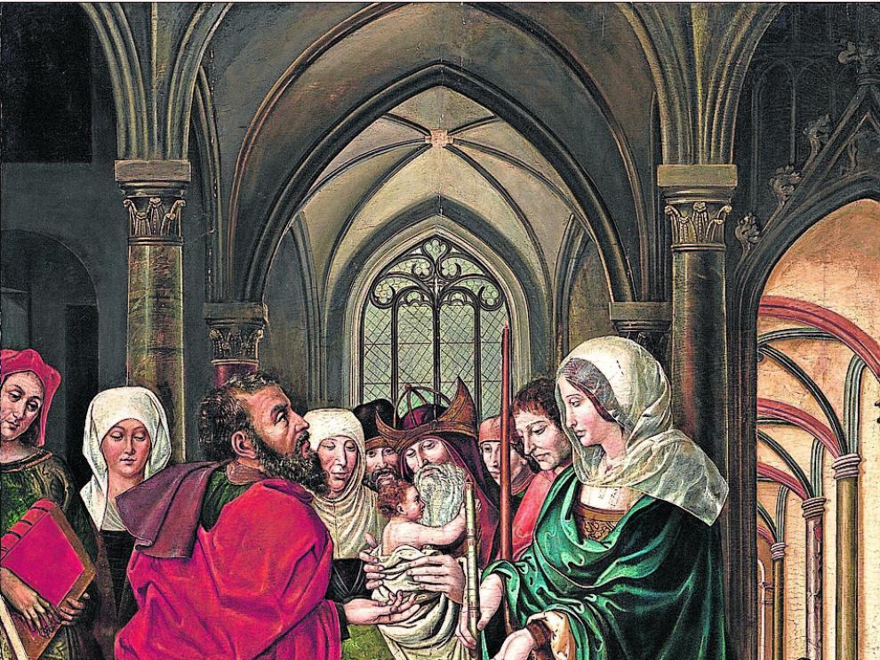 El cuadro fue retirado de la subasta que celebró ayer la sala barcelonesa Balclis.