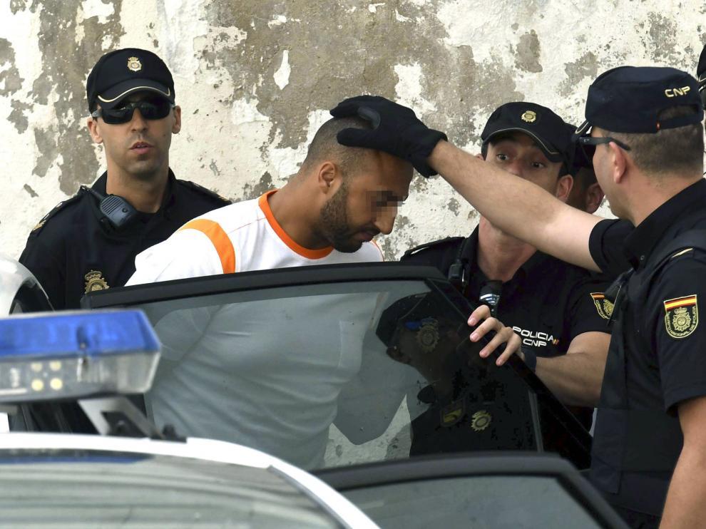 Uno de los detenidos este miércoles por el atropello y posterior accidente del pasado domingo en Marbella (Málaga).