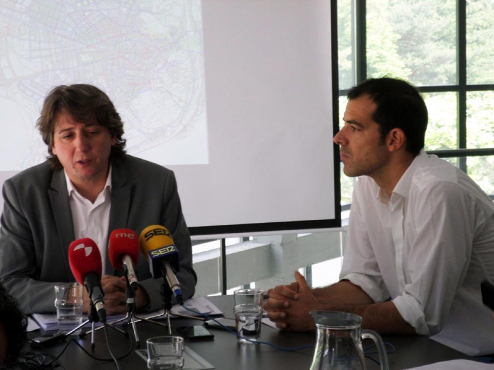 El alcalde de la capital, Carlos Martínez, ha dado cuenta esta mañana del plan de obras de Aguas de Soria que permitirá invertir dos millones de euros con un programa plurianual en distintas mejoras de las infraestructuras.