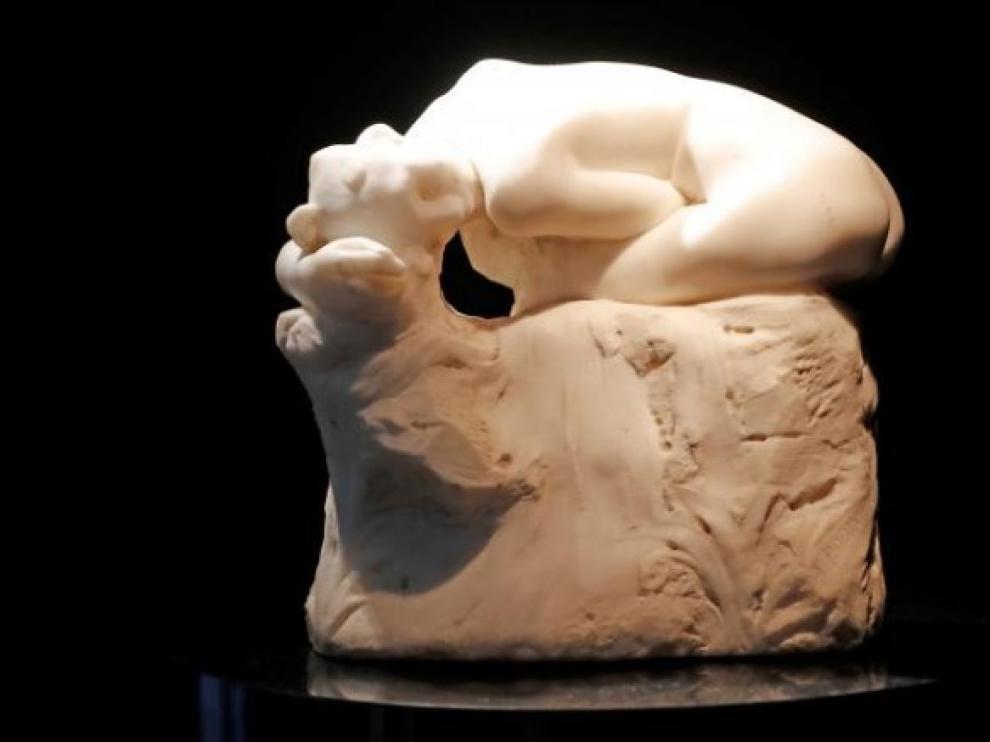 La 'Andrómeda' de Rodin antes de la subasta.