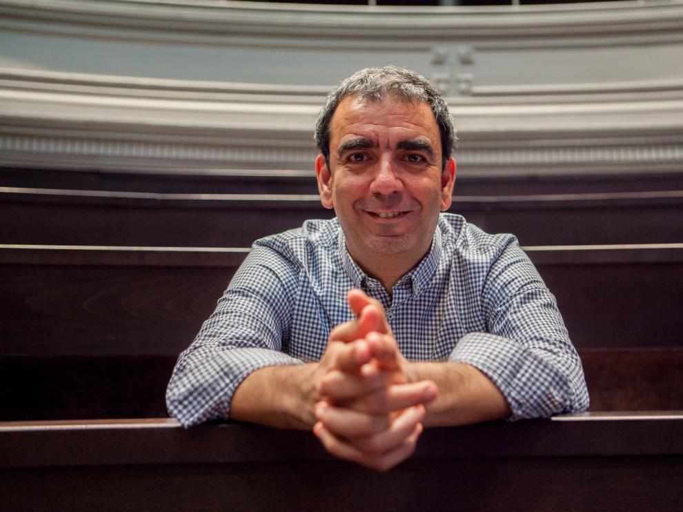 López Nicolás participó en la jornada de divulgación de Unizar