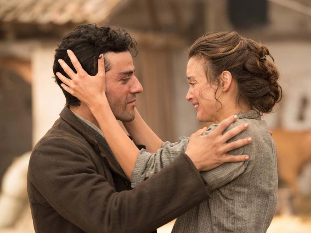 Imagen de la película 'La promesa', un drama romántico sobre el trasfondo del genocidio armenio.