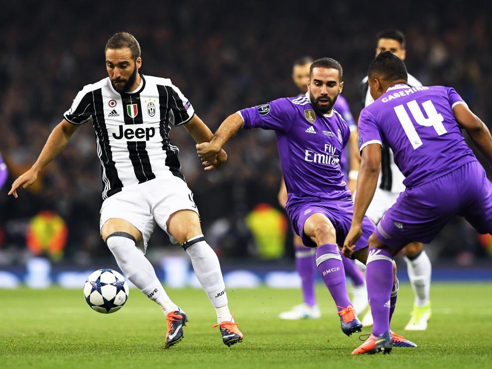 Juventus y Real Madrid se miden en la final de la Champions