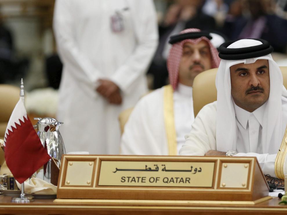 El emir de Qatar.