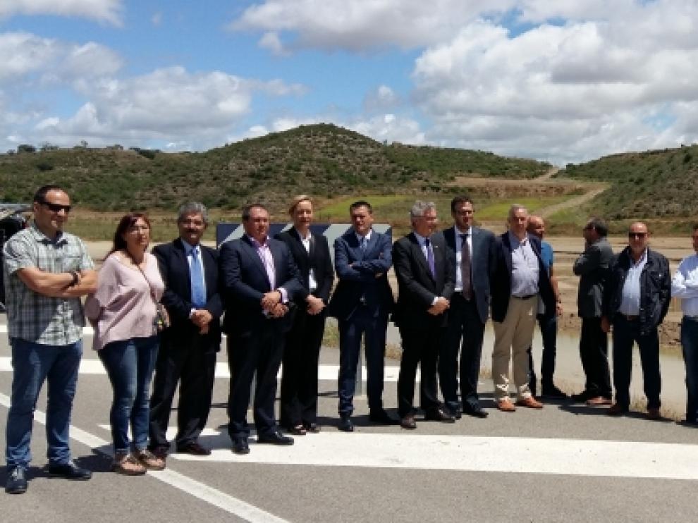Los consejeros Gastón y Olona han visitado las obras.