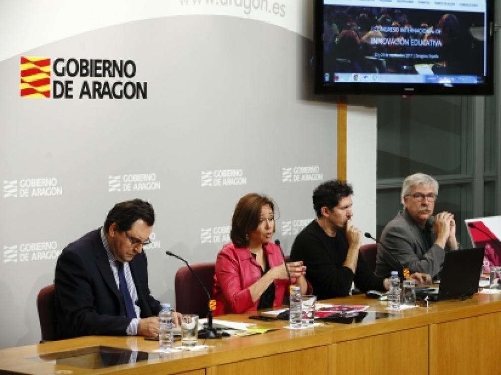 Mayte Pérez ha presentado el Congreso.