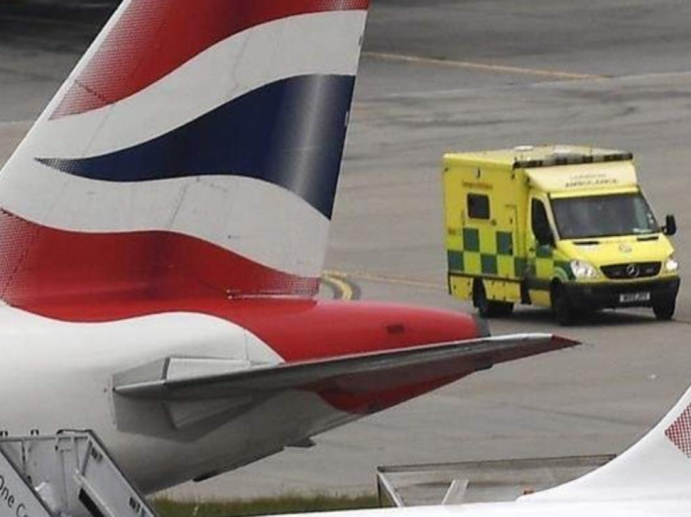 Aeropuerto de Heathrow.