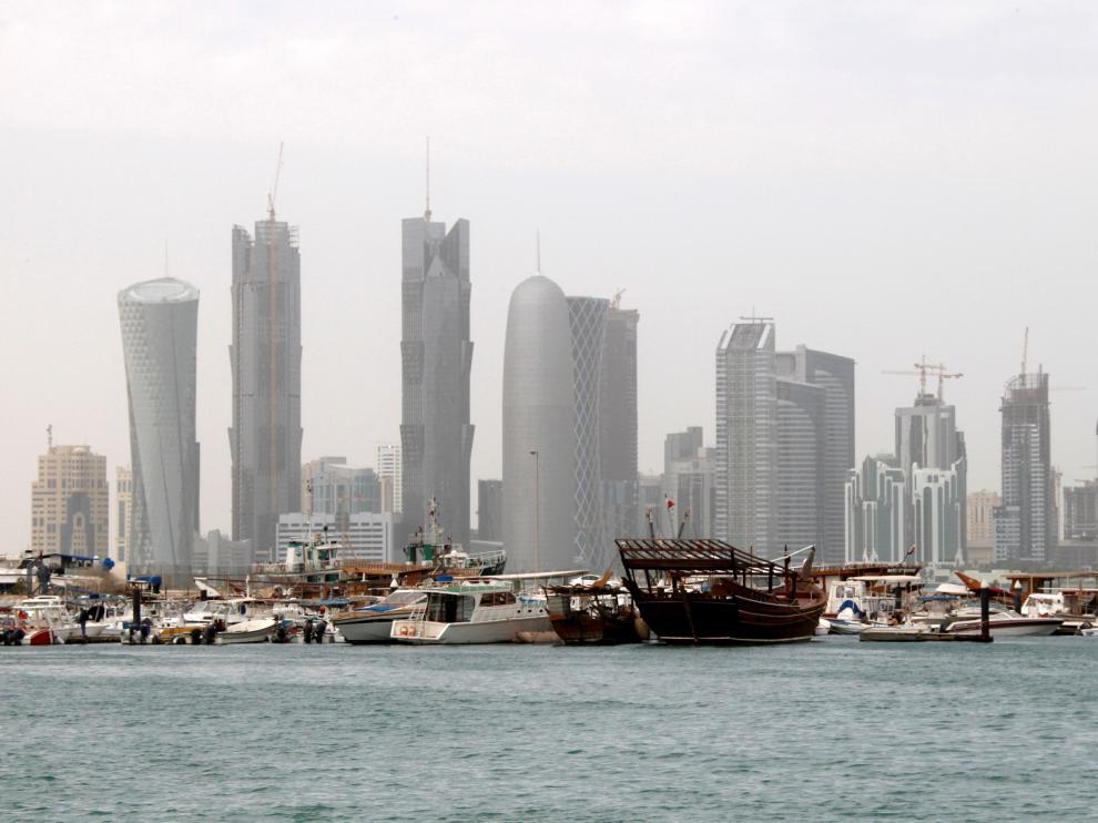 Rascacielos en Doha.