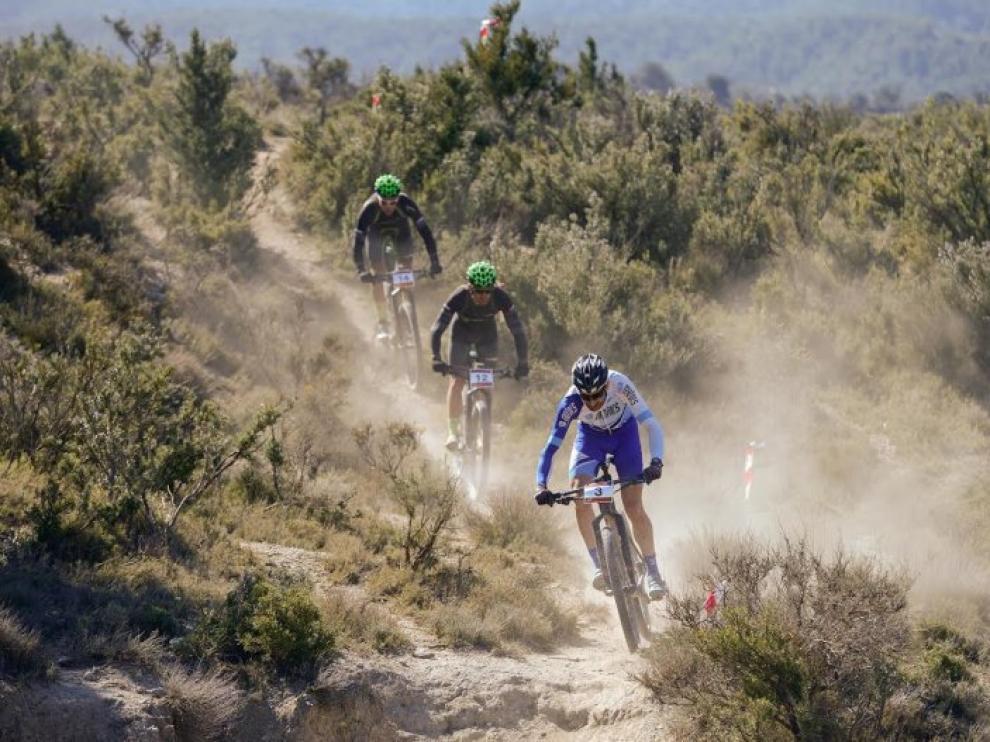 IV Vuelta Aragon BTT.