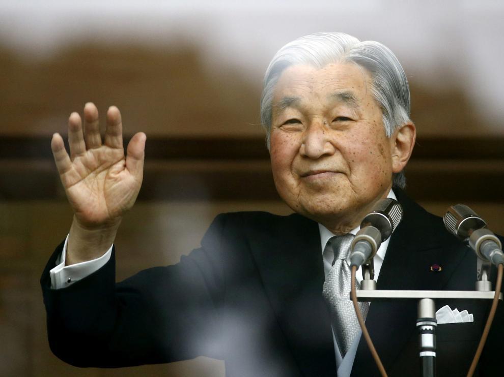 El emperador Akihito de Japón.