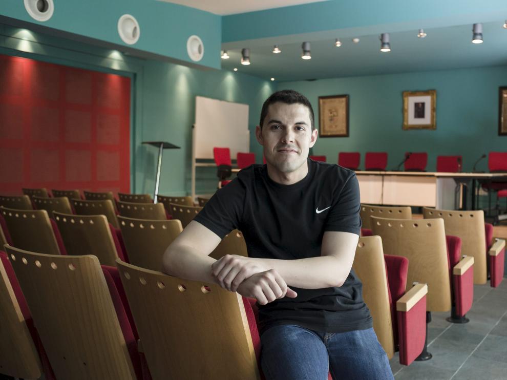 El alcalde de La Muela, Adrián Tello, en una imagen de archivo.