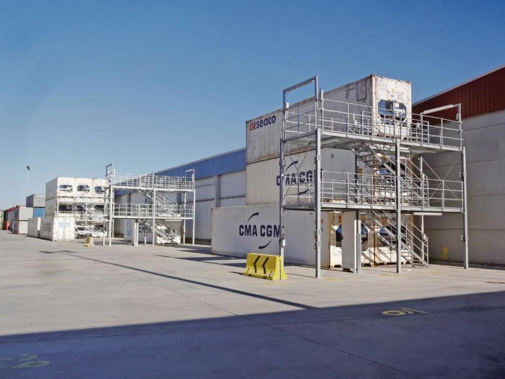 Mercazaragoza, plataforma logística agroalimentaria.