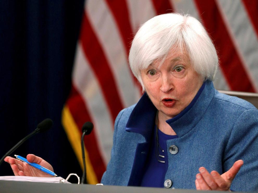 La responsable de la Reserva Federal, Janet Yellen