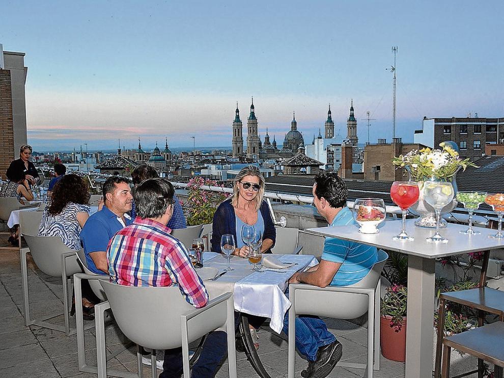 Cinco Terrazas Con Vistas En Zaragoza Noticias De