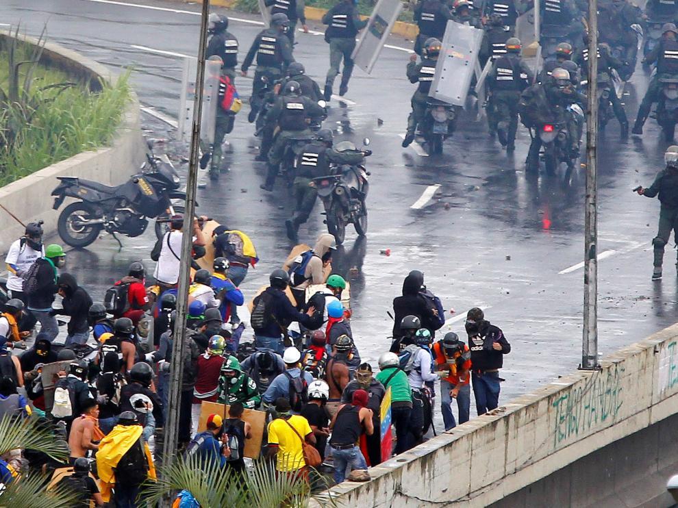 Se eleva a 75 la cifra de muertos en estas protestas.