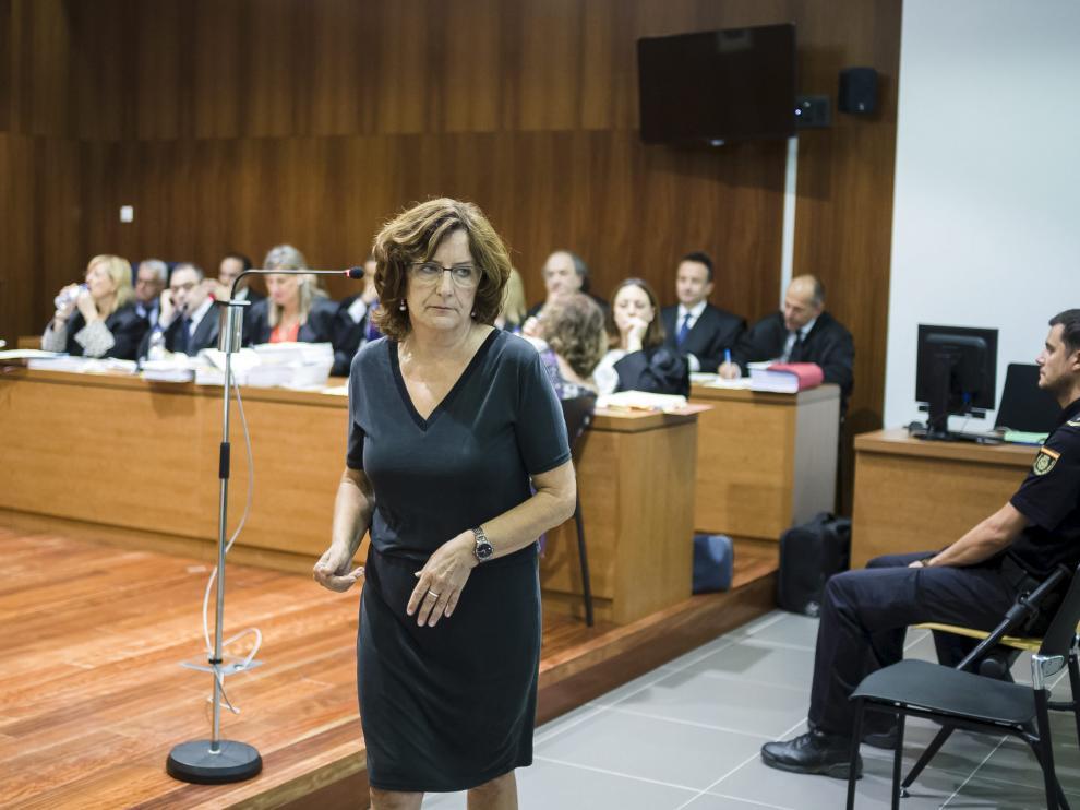María Broto declaró como testigo ante el jurado
