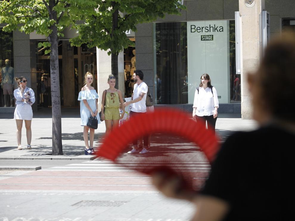 Ola de calor en Zaragoza